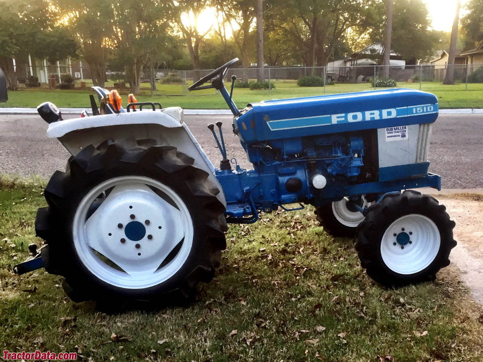 Ford Tractor 1500 Series : Tractordata ford tractor photos information
