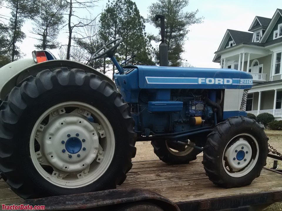 Ford 2110 Tractor : Tractordata ford tractor photos information