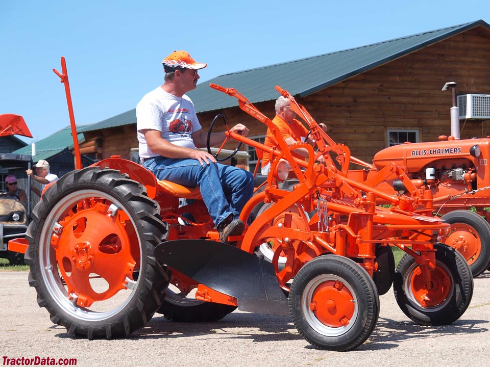Tractordata Com Allis Chalmers G Tractor Photos Information