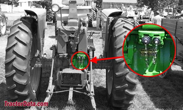 John Deere 3010 serial number location