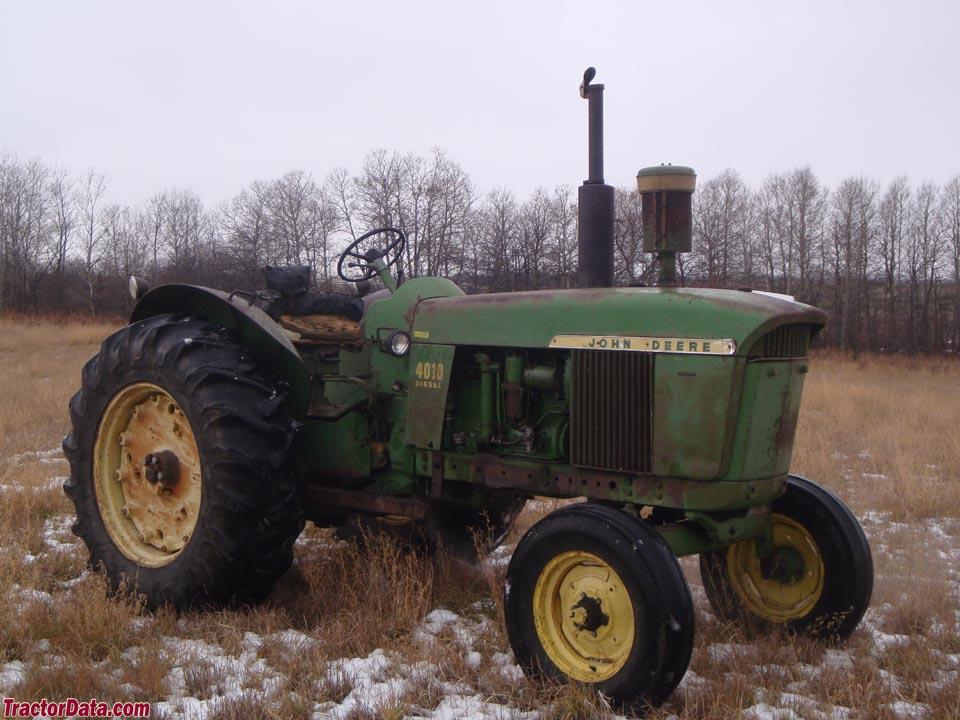Original-condition 1963 John Deere 4010.