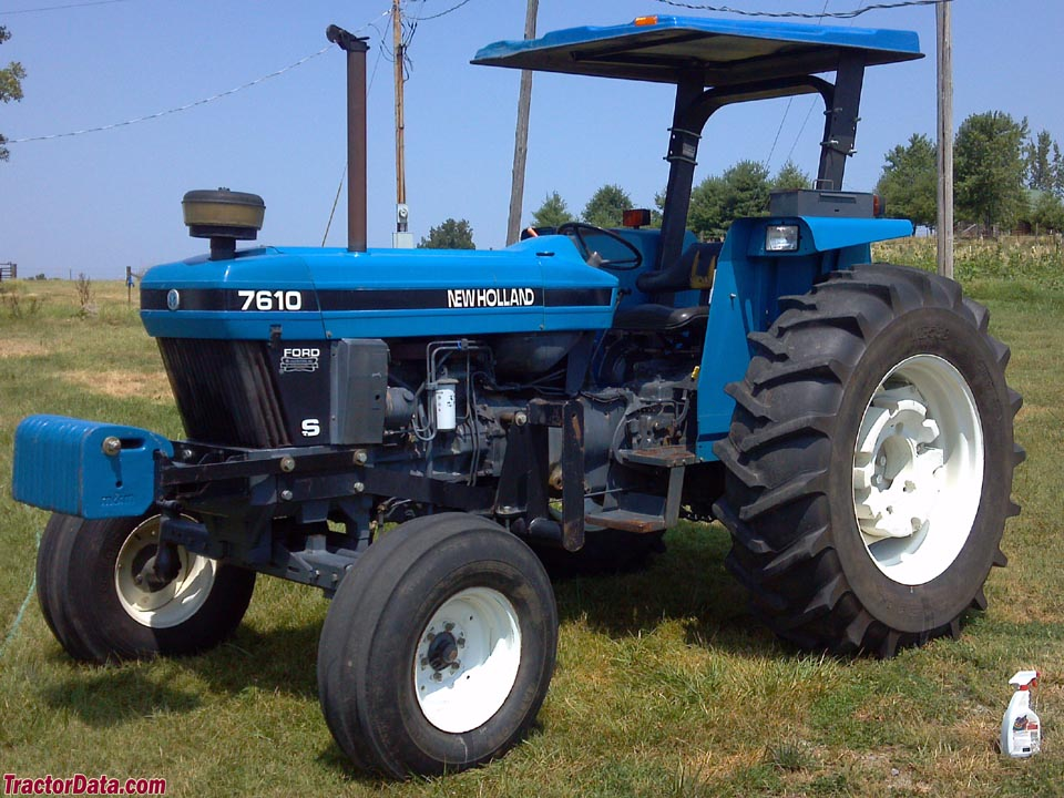 Ford New Holland 7610S Photo courtesy of Bryan Kessler