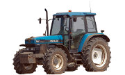New Holland 7840 tractor photo