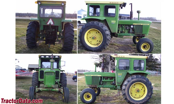 John Deere 4020 walk around photo