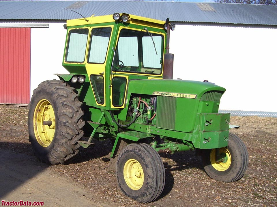 After-market cab on John Deere 4020