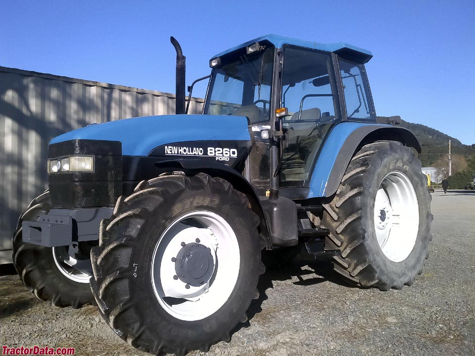 New Holland Ford >> Tractordata Com Ford New Holland 8260 Tractor Photos Information