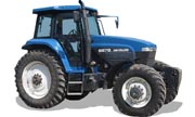New Holland 8670 tractor photo