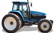 New Holland 8770 tractor photo