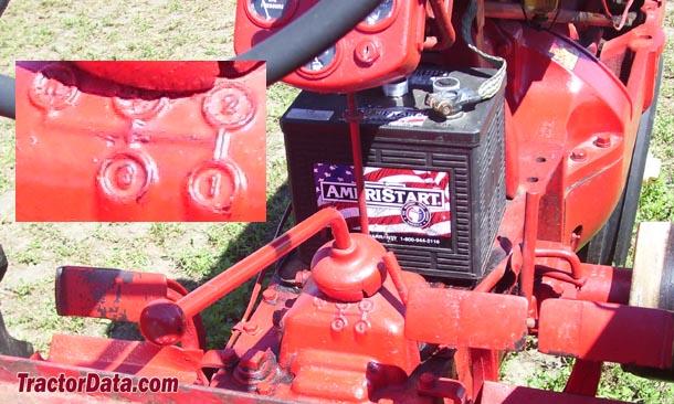 Cockshutt 30  transmission photo