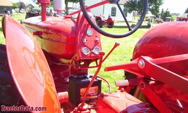 Cockshutt 40  transmission photo