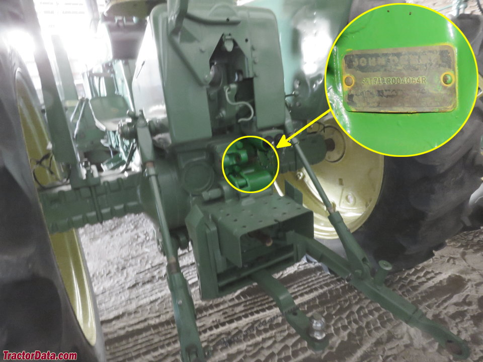 photo of 2510 serial number