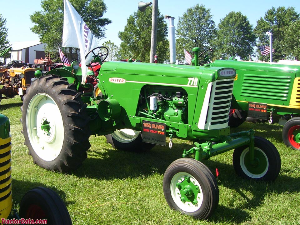 Oliver 770 with wide front end.