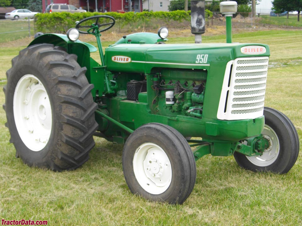 Oliver 990 Tractor : Tractordata oliver tractor photos information