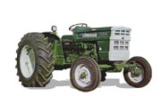 Oliver 1255 tractor photo