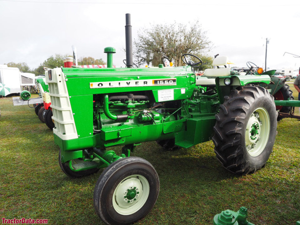Oliver 1550 Row Crop Utility