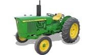 John Deere 1520 tractor photo