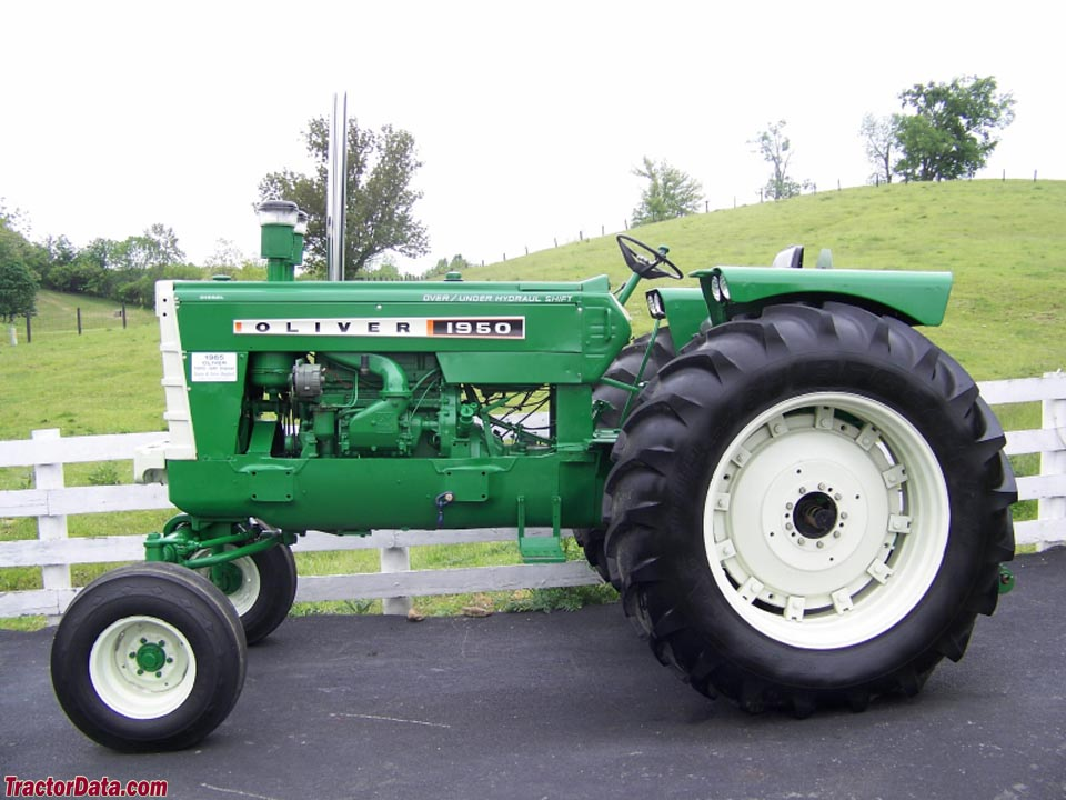 Row-crop Oliver 1950