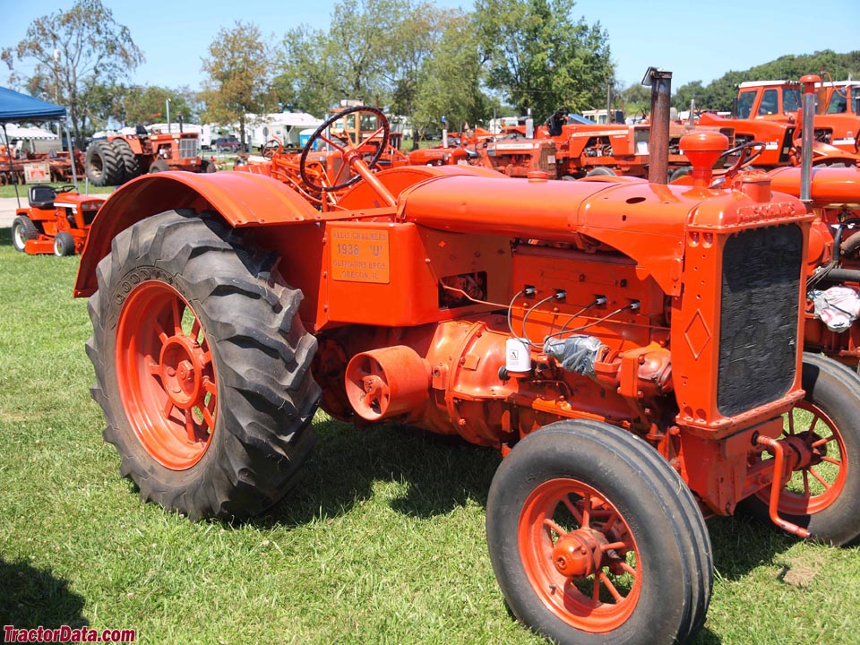 1938 Allis-Chalmers model U tractor.