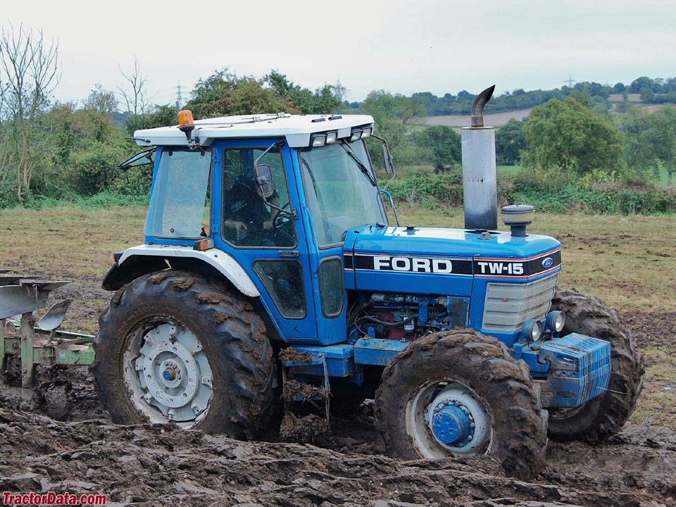 Tractordata Com Ford Tw 15 Tractor Photos Information