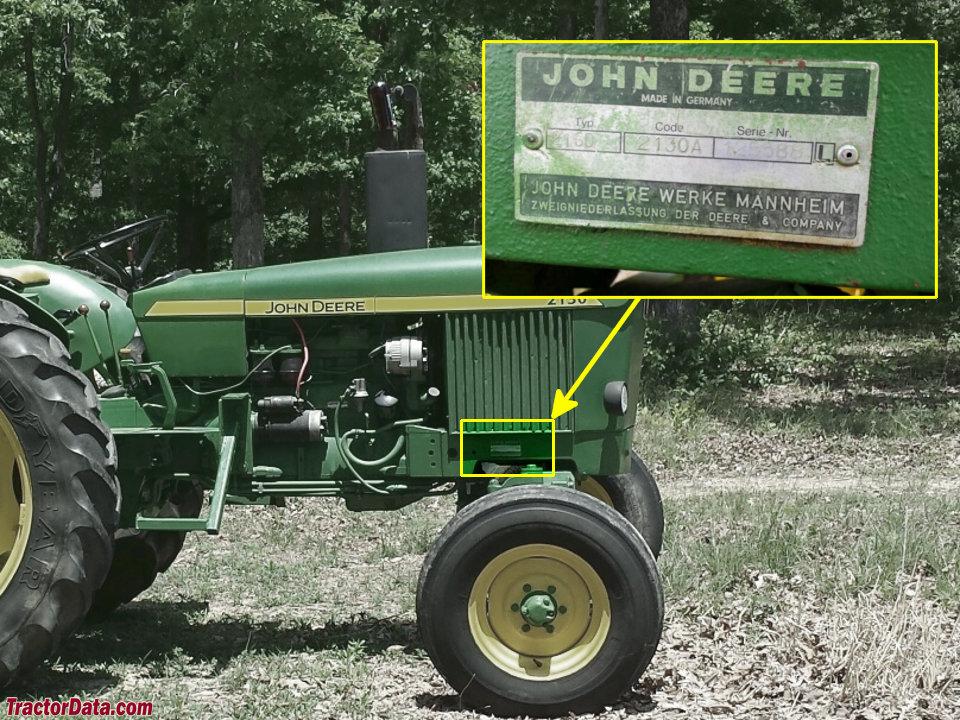 John Deere 2130: John Deere 2130 Wiring Diagram At Hrqsolutions.co