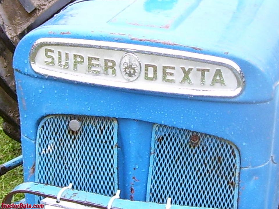 Fordson Super Dexta front badge
