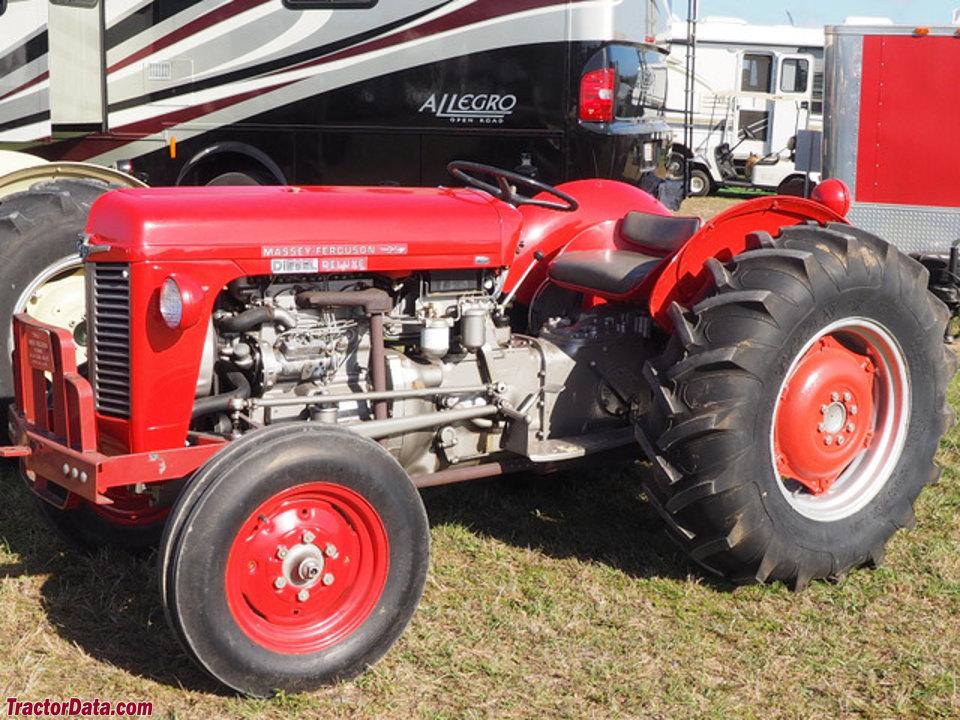 Massey Ferguson 35 Tractor : Tractordata massey ferguson tractor photos information