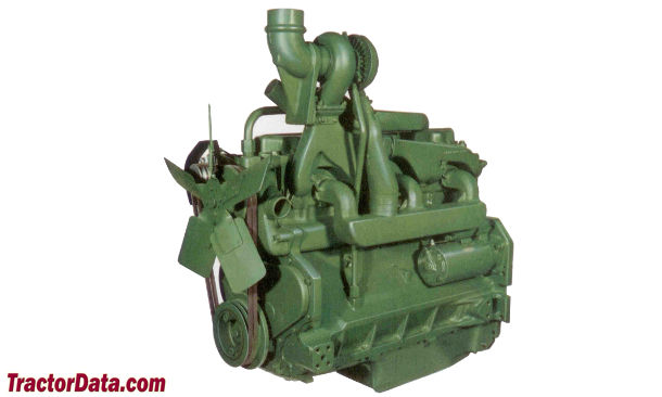 John Deere 4520  engine photo