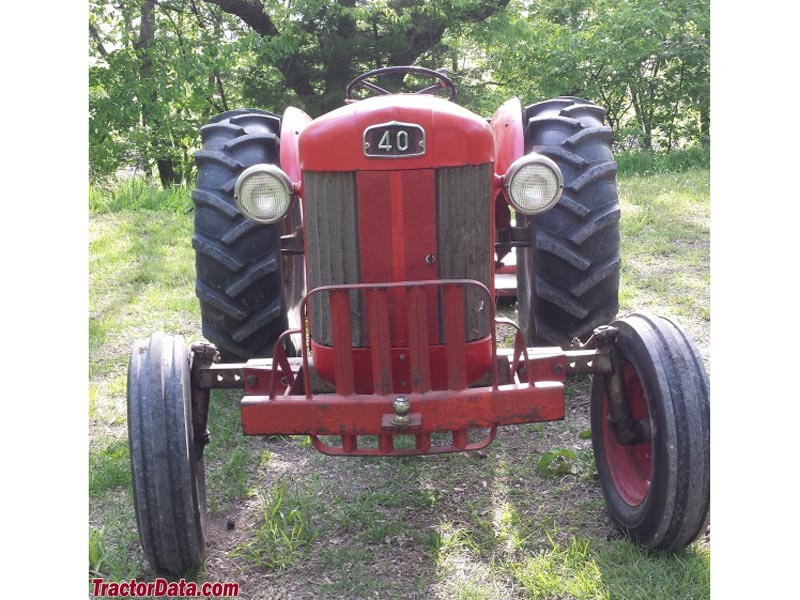 1956 Massey Ferguson 40 Tractor : Tractordata massey ferguson f tractor photos information