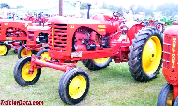Massey Harris 44 LP row-crop