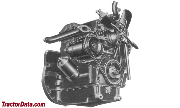 Massey Ferguson 50  engine photo