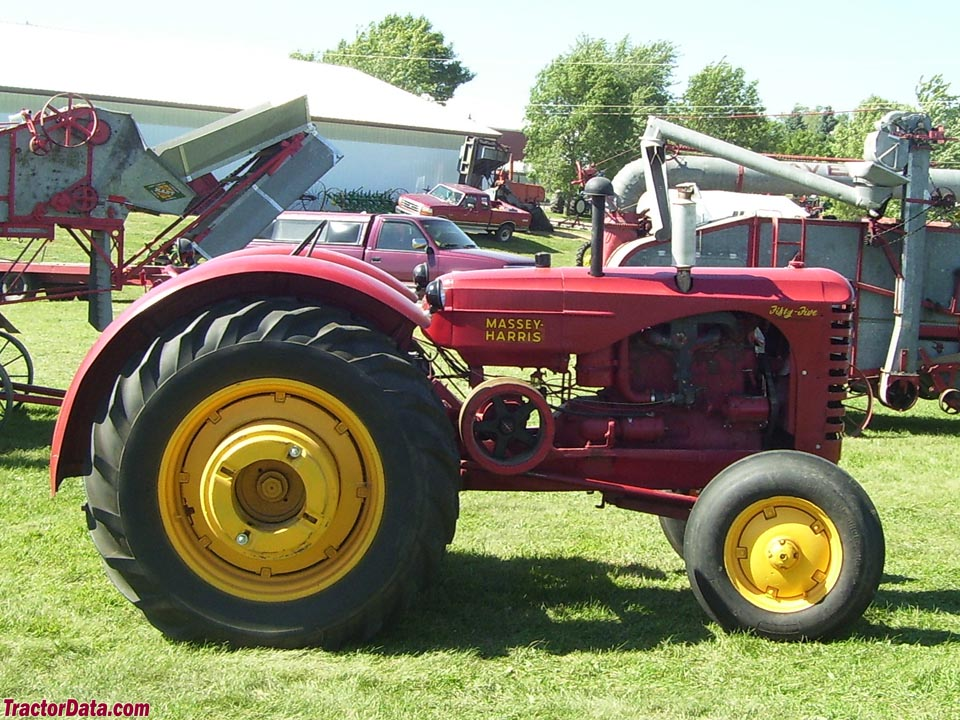 Early style Massey-Harris Fifty-Five.