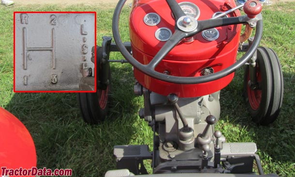 Massey Ferguson 65 Dual Range transmission photo