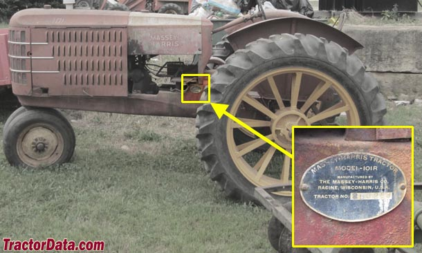 TractorData com Massey-Harris 101 Super tractor information