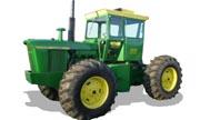 John Deere 7020 tractor photo