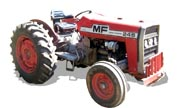 Massey Ferguson 245 tractor photo