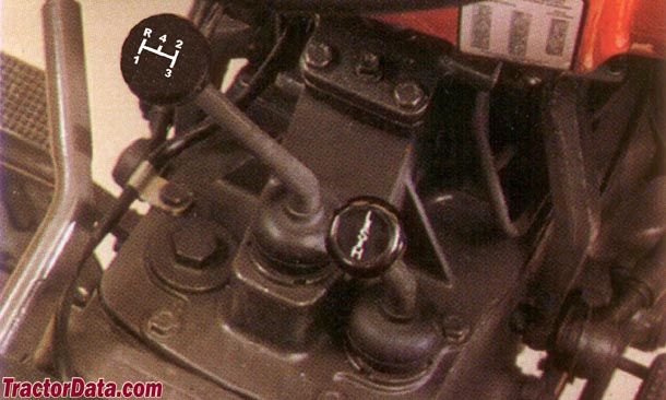 Massey Ferguson 270  transmission photo