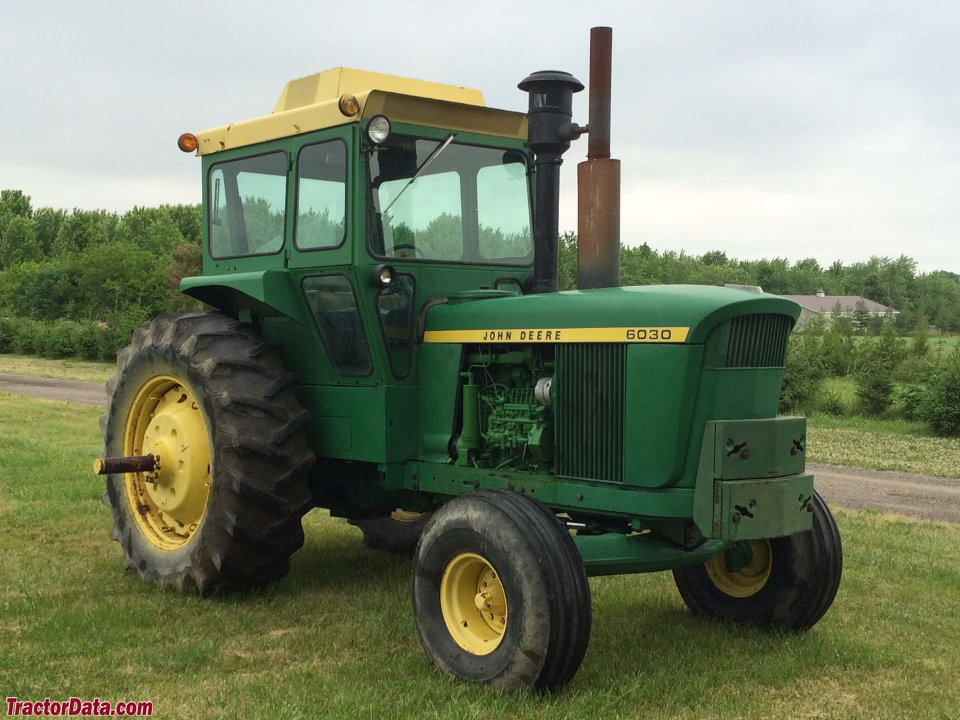 John Deere 6030 with factory cab.