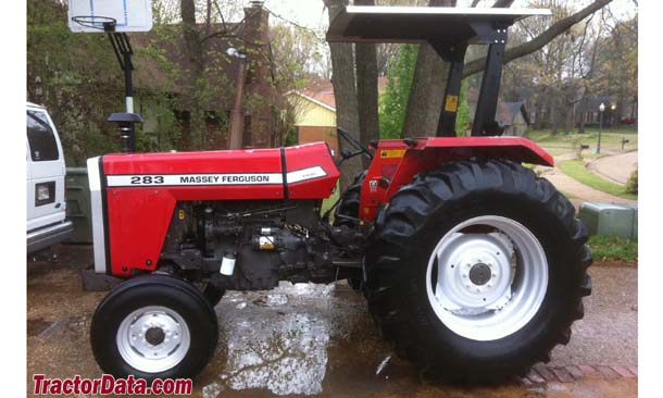Massey Ferguson 283, left profile