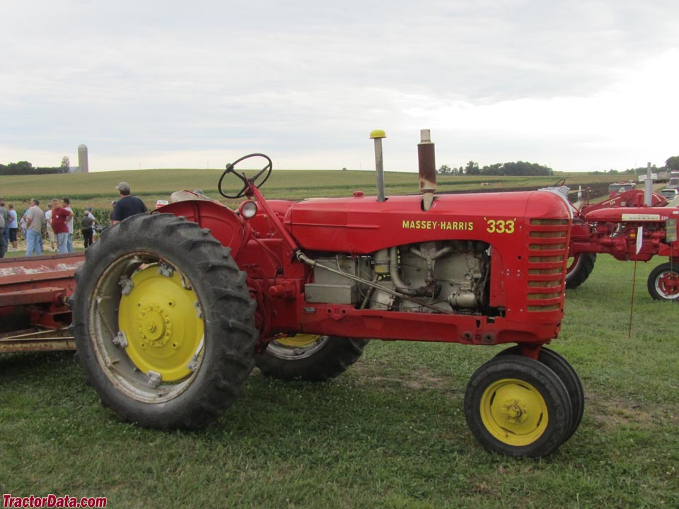 Massey-Harris 333 with tricycle front end.