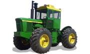 John Deere 7520 tractor photo