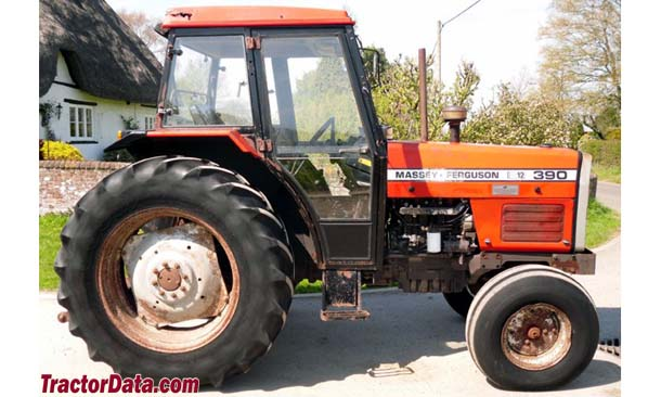 Model 390 Massey-Ferguson with cab