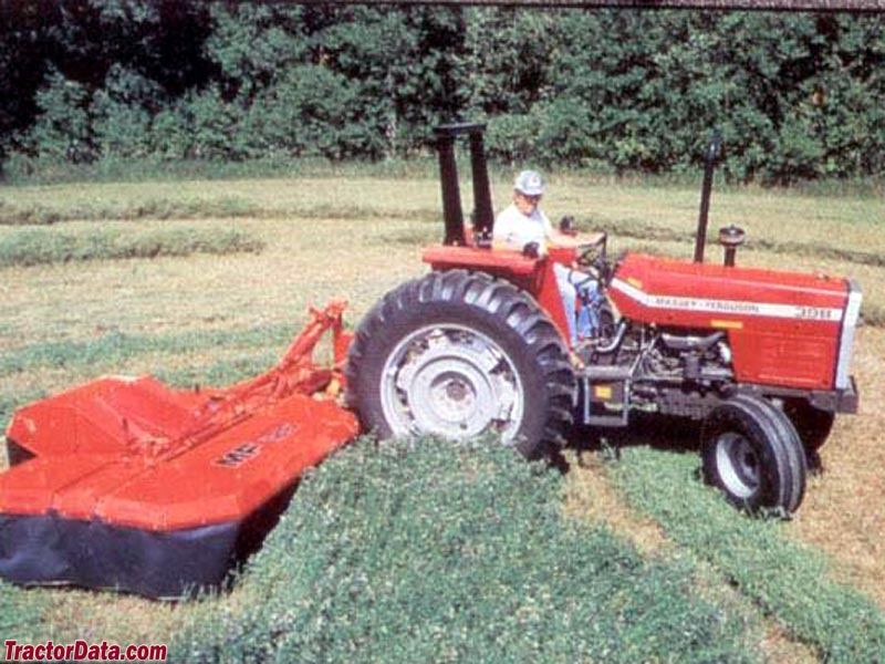 Massey Ferguson 398 with ROPS.