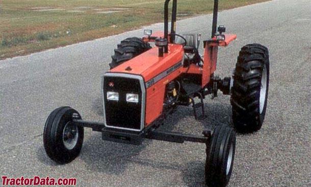 Massey-Ferguson 399 wide row-crop
