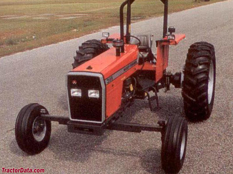 Massey-Ferguson 399 wide row-crop.