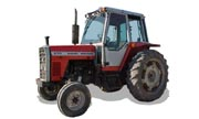 Massey Ferguson 670 tractor photo