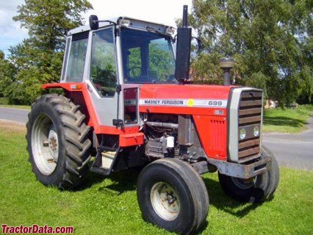 Massey Ferguson 699, right side.