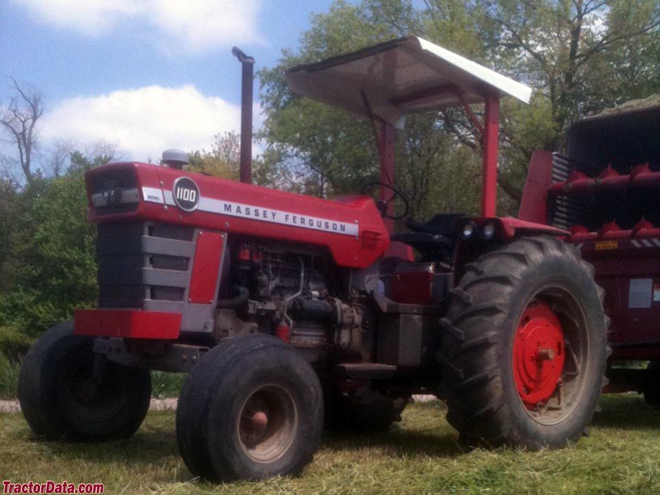 Massey Ferguson 1100 : Tractordata massey ferguson tractor photos