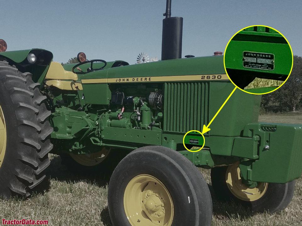 TractorData com John Deere 2030 tractor information