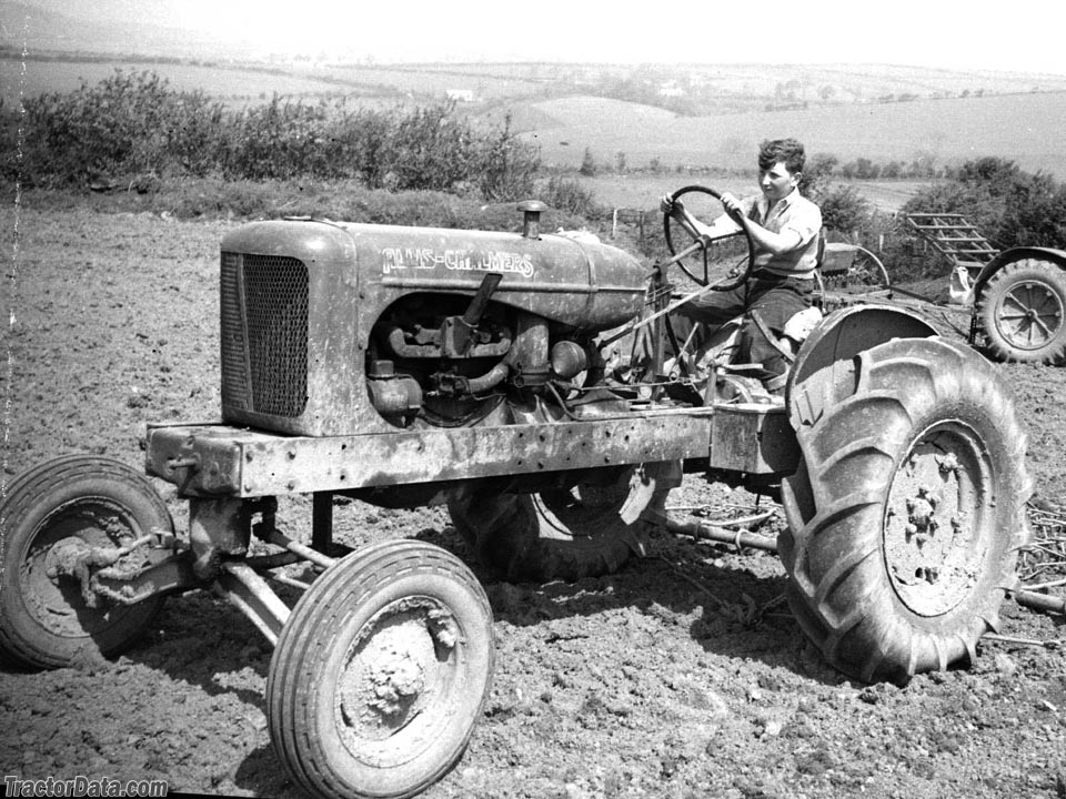 Allis-Chalmers WC in West Wales, UK, in the 1950s.