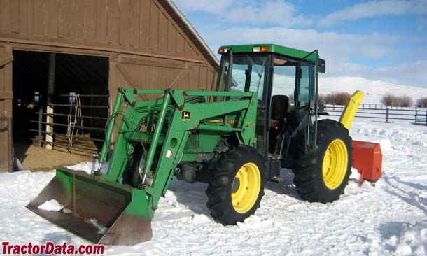 John Deere 5500 with cab and 540 loader